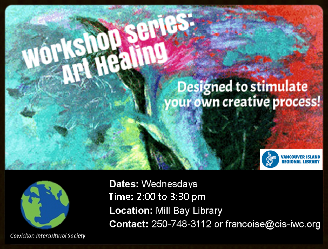Art Healing Series @ Mill Bay Library
